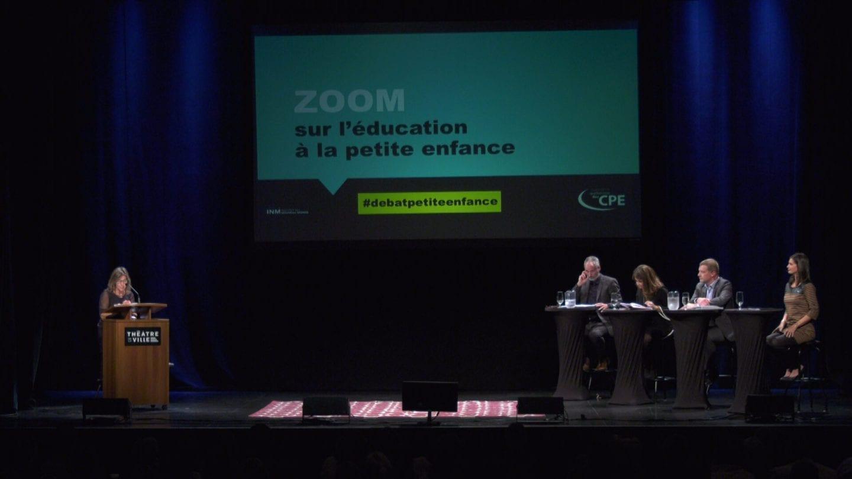 Zoom sur l'éducation à la petite enfance: un débat éclairant!